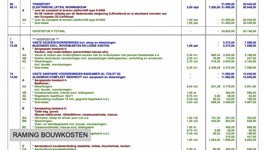017 utrecht ed bijman for Bouwkosten huis
